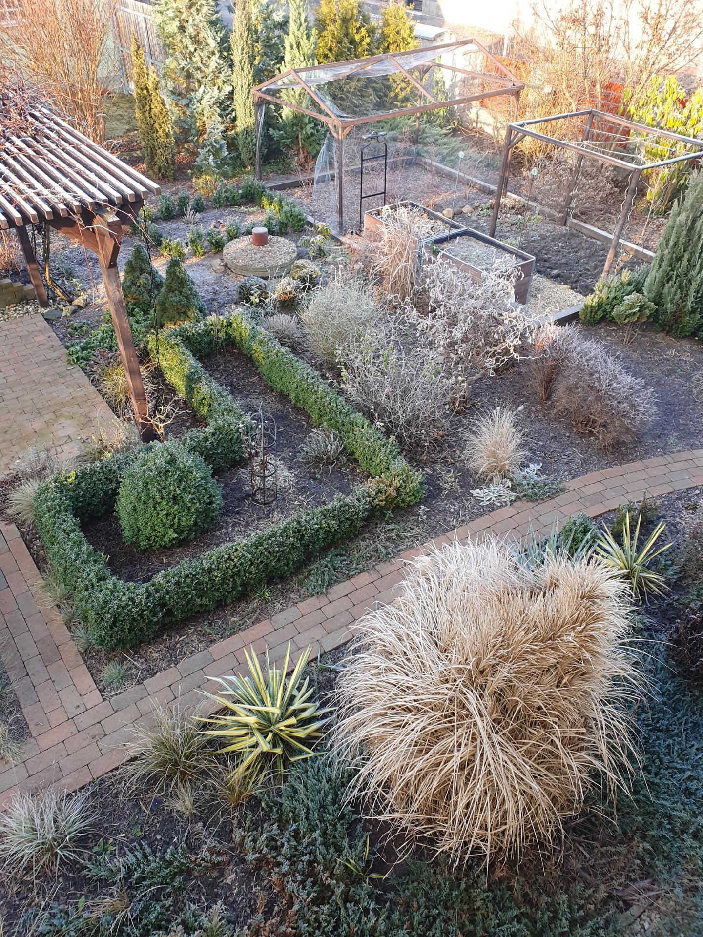 Zahrada ozdobená mrazem - Obrázek č. 2