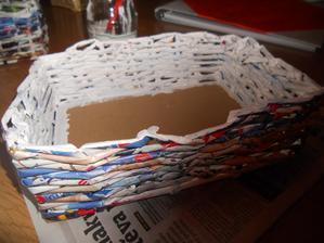 košíček na vývazky :-) snad ta bílá chytne pořádně