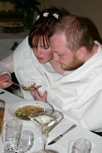 ...výborná knedlíčková polévka...