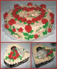 """...dorty maminek a """"náš"""" dort - návrhy jsou mé, ovšem velký dík patří paní Dobešové do Valašského Meziříčí - dorty nejen skvěle vypadaly, ale báječně i chutnaly!!!"""