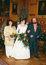 ...nevěsta s rodiči...