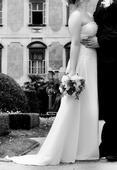 Bílé svatební šaty na malou nevěstu - vel 34-38, 34