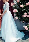 čipkované svadobne šaty, 38