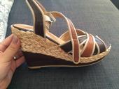 Hnedé sandálky 37, 37