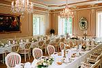 Tohle je sál kde se bude konnat svatební hostina přímo v areálu Zámku