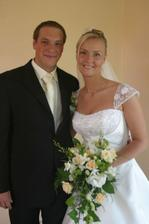 ženich si přišel pro nevěstu
