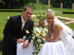 Odpočinek u svatebního oltáře