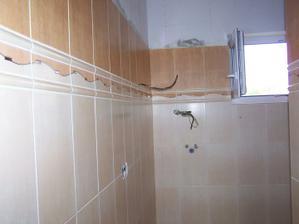 Detail obkladu koupelny