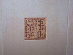 Detail dekoru na WC