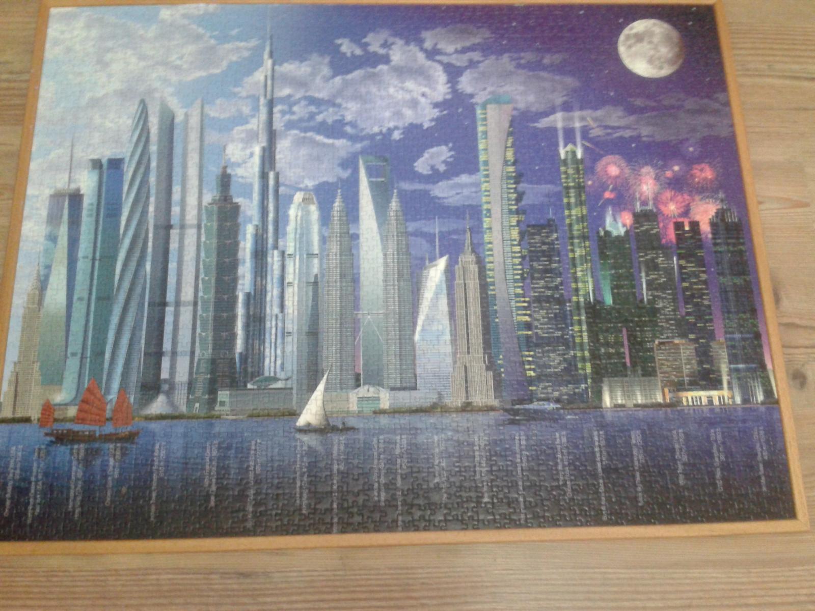 Veľký obraz do detskej izby - puzle - Obrázok č. 1