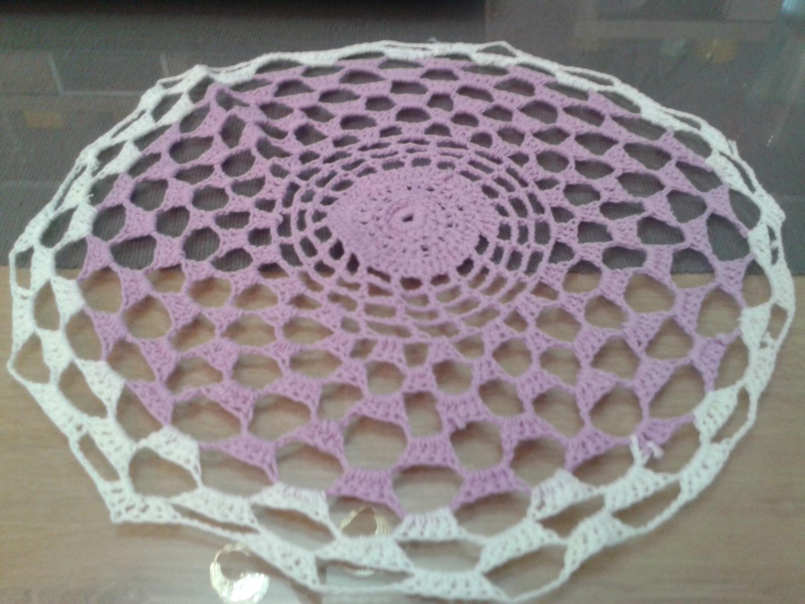 sadu dečiek fialovo-bielej farby - Obrázok č. 1