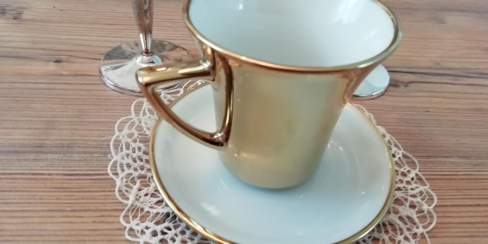 Zlatá šálka na espreso - Obrázok č. 1