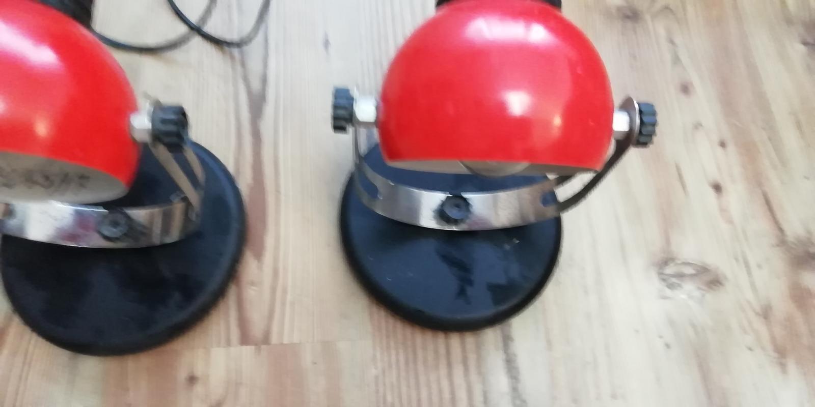 Retro lampy - 2 kusy - Obrázok č. 1