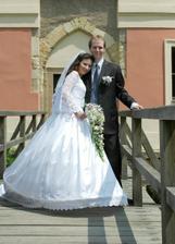 každý, kdo měl svatbu na Chodovské tvrzi, má tuhle fotku :-)
