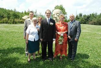 tohle je ženichova rodina