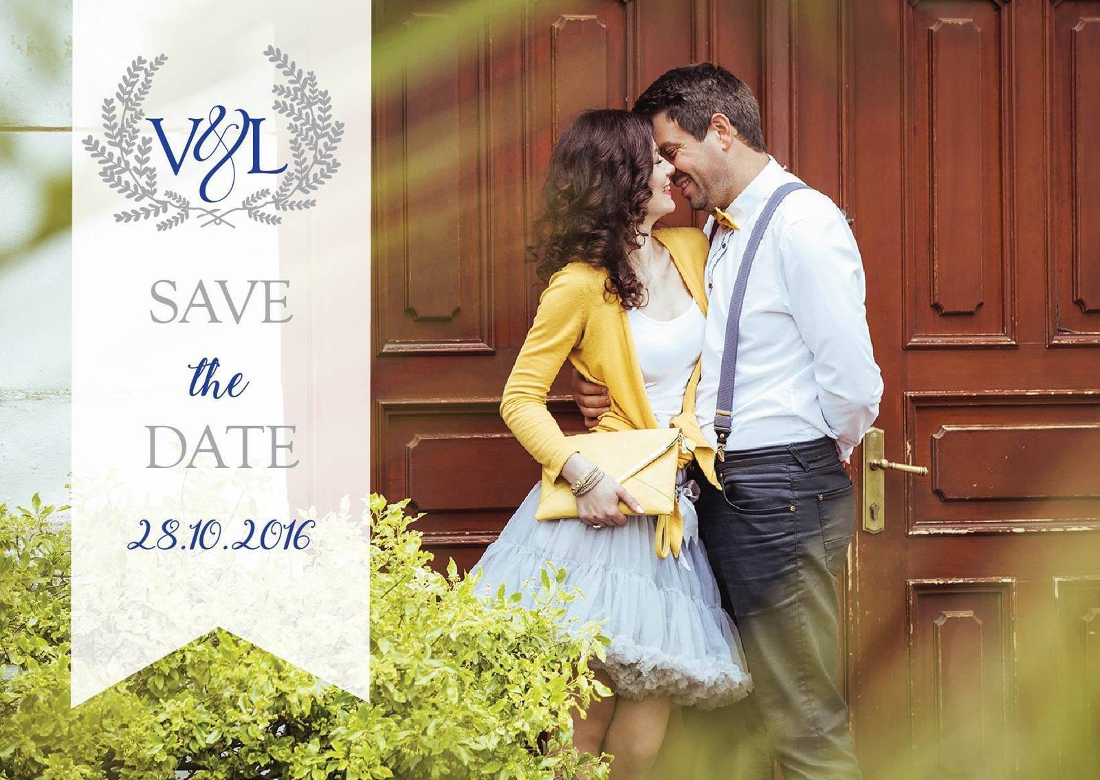 A tu je naše Save the date :) - Obrázok č. 1