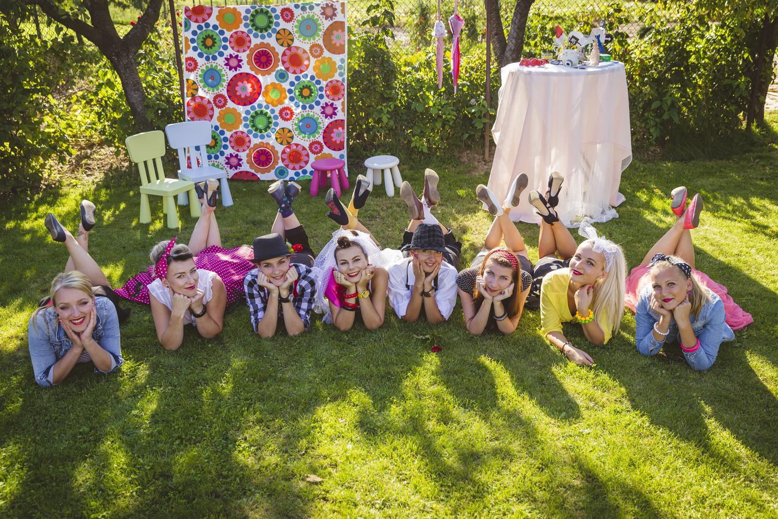 Retro rozlúčková záhradná párty :D - Obrázok č. 28