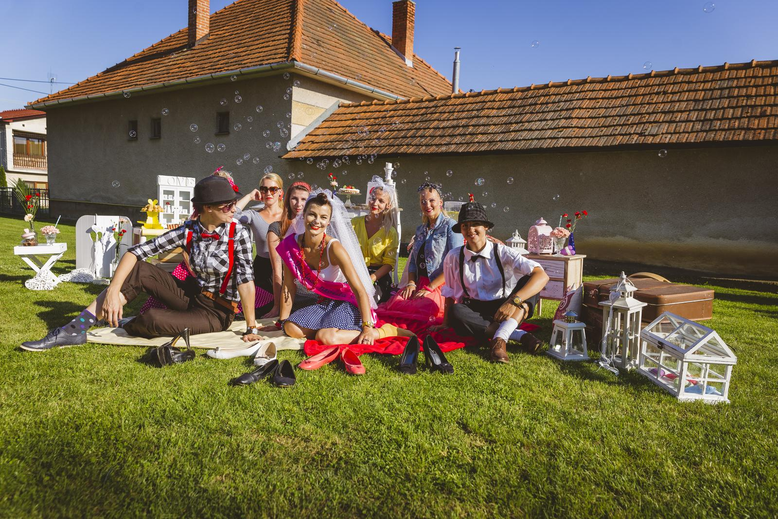 Retro rozlúčková záhradná párty :D - Obrázok č. 42