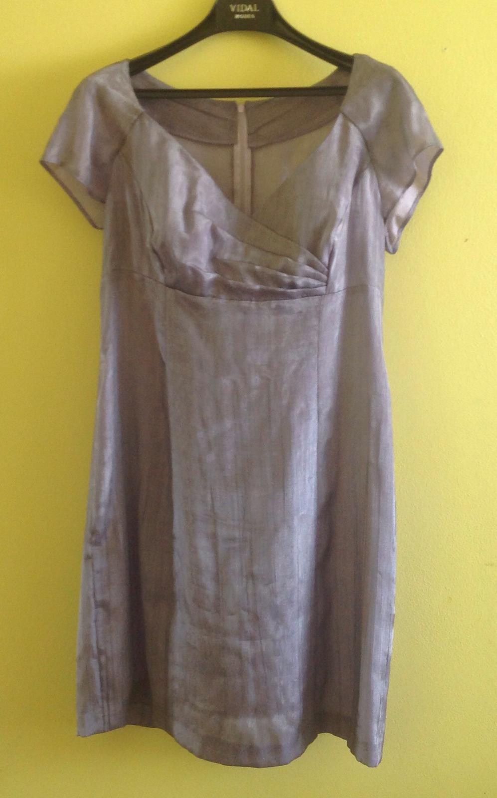 Luxusní šaty lehounké vel. 42/44 - Obrázek č. 1
