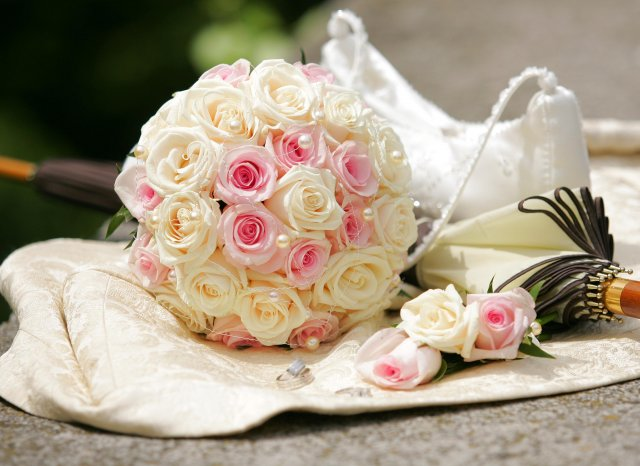 BEAUTIFUL WEDDING - Pekná kytička