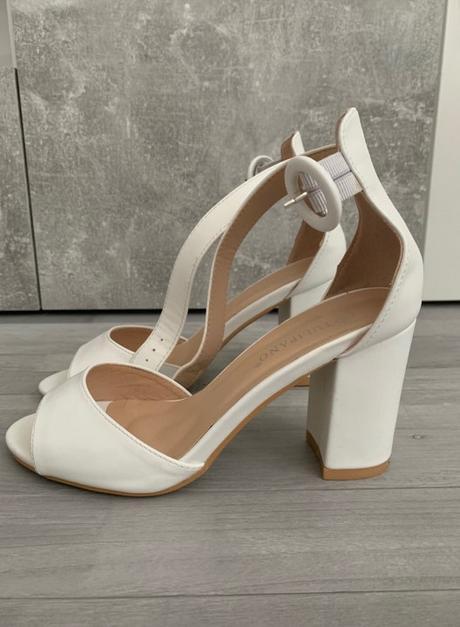 Svadobné koženné sandalky Tulipano  - Obrázok č. 2