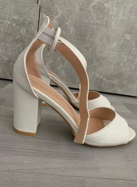 Svadobné koženné sandalky Tulipano  - Obrázok č. 3