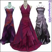 Luxusné spoločenské šaty pre moletky od 36 po 54, 50