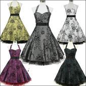 HIT 2014- RETRO šaty na každú príležitosť do 10dní, L