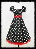 Krátke Retro šaty aj pre Moletky - 36 - 48, XXL