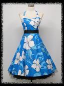 Krátke šaty Retro 50 rokov - 40-48, 40