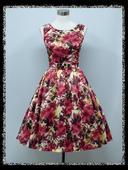 Nadčasové Retro šaty - 38 - 44 , 38