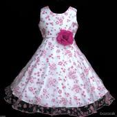 Dievčenské šaty na 2 -5 rokov _ do 48 hodín., 122