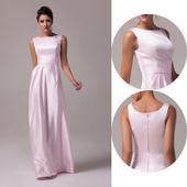 Ružové spoločenské šaty - 32 -36, 32