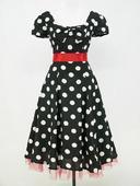 Krátke Retro šaty aj pre Moletky - 36 - 48 , 48