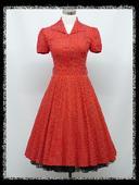 Nové krátke Retro šaty pre Moletky - 44 -48 , 46
