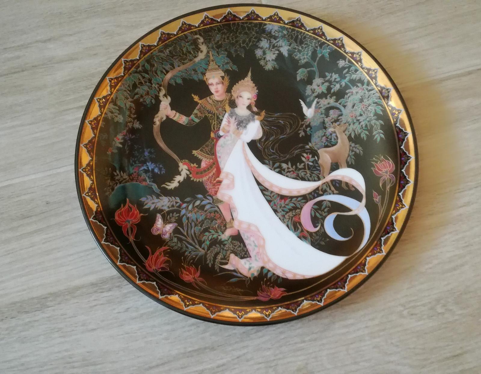 Ozdobný tanier z Thajska - Obrázok č. 1