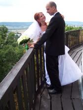 na balkoně