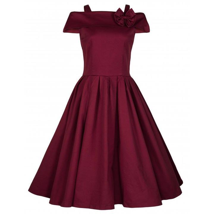 Vintage spoločenské šaty - výpredaj - veľkosť 40 -  c17c9db7bdd