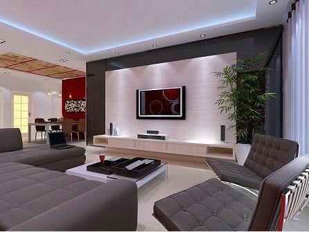 Jak bych si představovala náš sen :-) - To podsvícení v obýváku je super! ! ☆