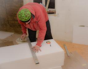 Obložení stěn polystyrenem - pro nás nejlepší varianta. . 😉