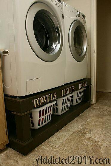 Jak bych si představovala náš sen :-) - Koše na prádlo - rozdělené!!