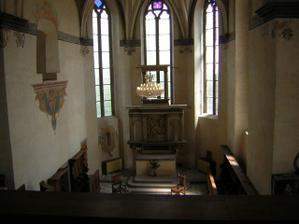 pohled do kaple