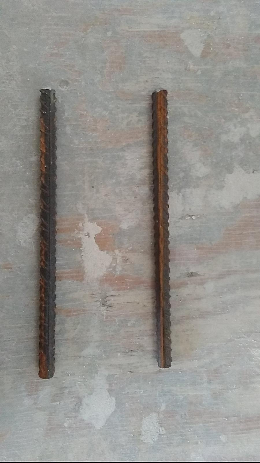 Ytongový překlad z příčkovky (nenosný) - 10mm roxor - délka 20cm - mírně si zbruste kraje, aby šel lépe zatloukat do tvárnice