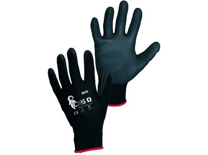 Bez čeho by se mi stavělo hůř ... - Obyčejné rukavice s pogumovanou dlaní - od 13Kč