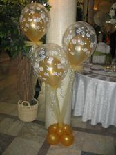 dekoracie pri stlpoch