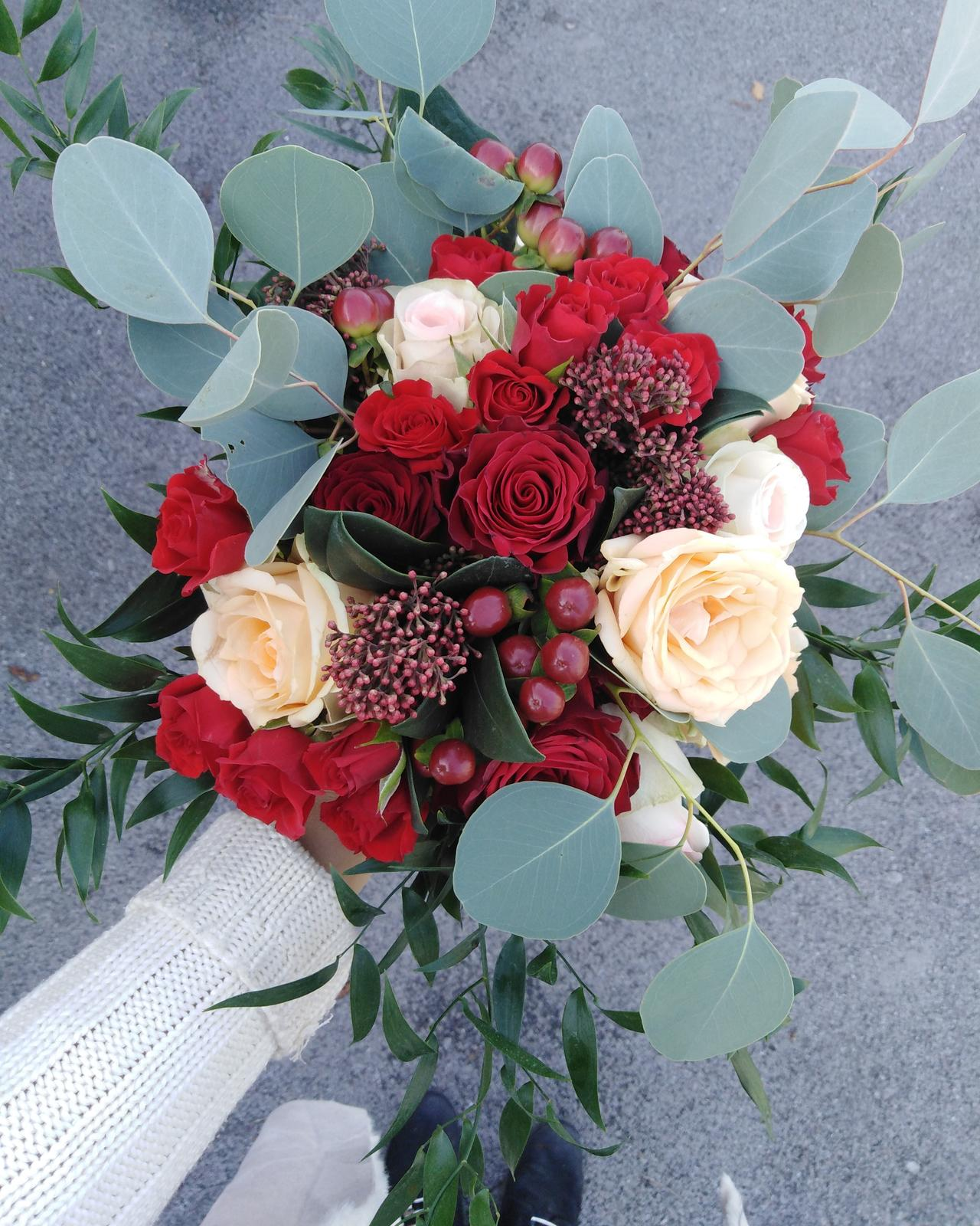Svadobné kytice - Obrázok č. 1