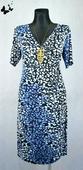 Letní šaty modré vel 48, 48