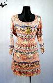 Letní barevné šaty vel 50, 50