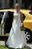 Svatební šaty - vel. 36-38-40, 38
