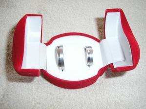 naše prstýnky(stříbro)